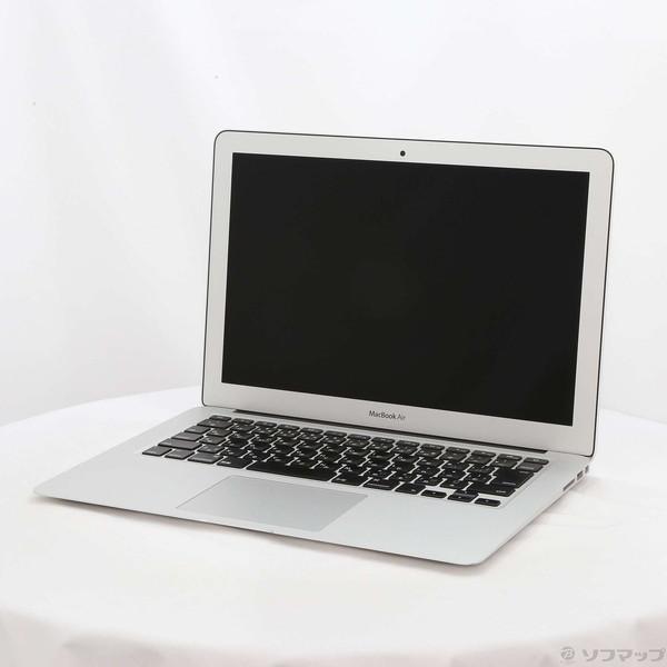 〔中古〕Apple(アップル) MacBook Air 13.3-inch Early 2015 MJVG2J/A Core_i5 1.6GHz 4GB SSD256GB 〔10.10 Yosemite〕〔348-ud〕 u-sofmap