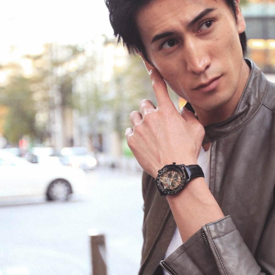 腕時計 メンズ おしゃれ アナログ ウォッチ パイロット クロノグラフ ビジネス 革 メンズ腕時計 フライトタイマー|u-stream|11