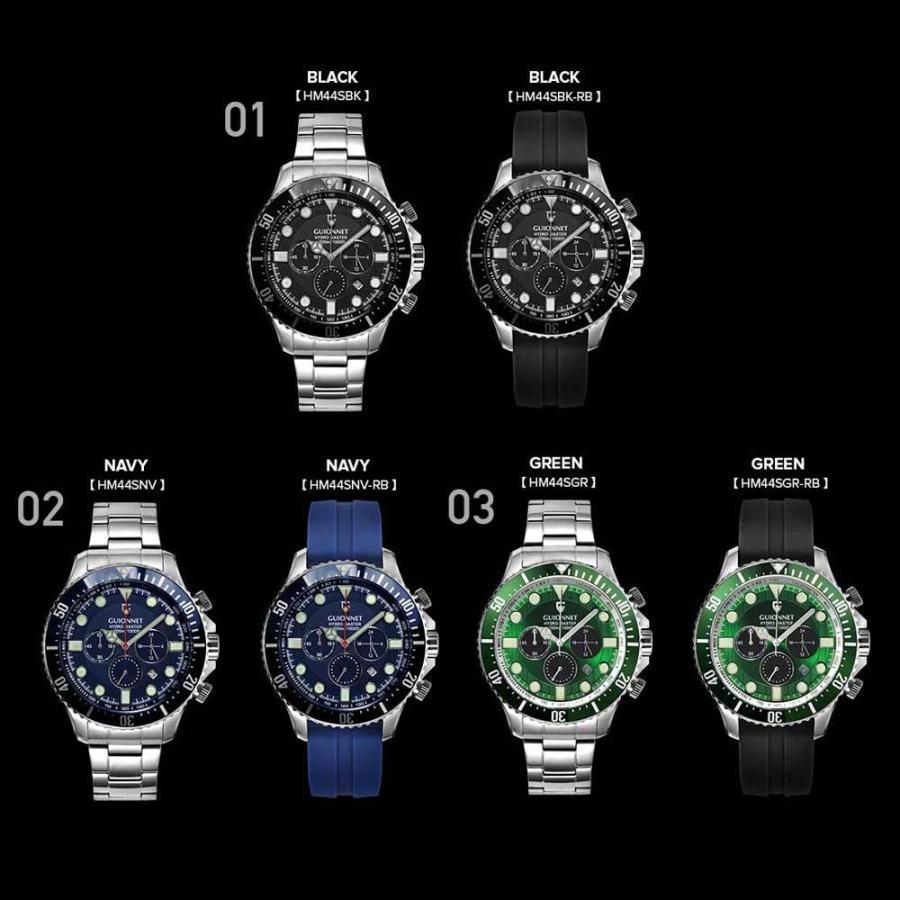 時計 人気 メンズ 腕時計 ダイバーズ クロノグラフ メンズ腕時計|u-stream|02