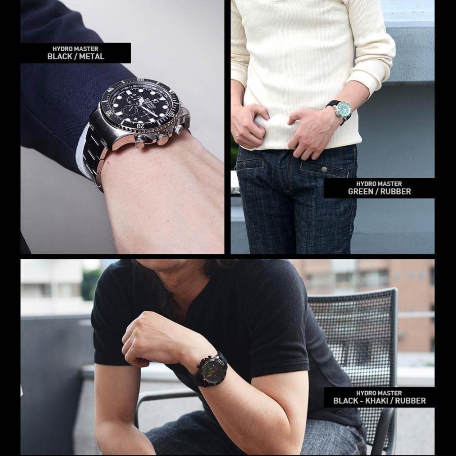 時計 人気 メンズ 腕時計 ダイバーズ クロノグラフ メンズ腕時計|u-stream|14