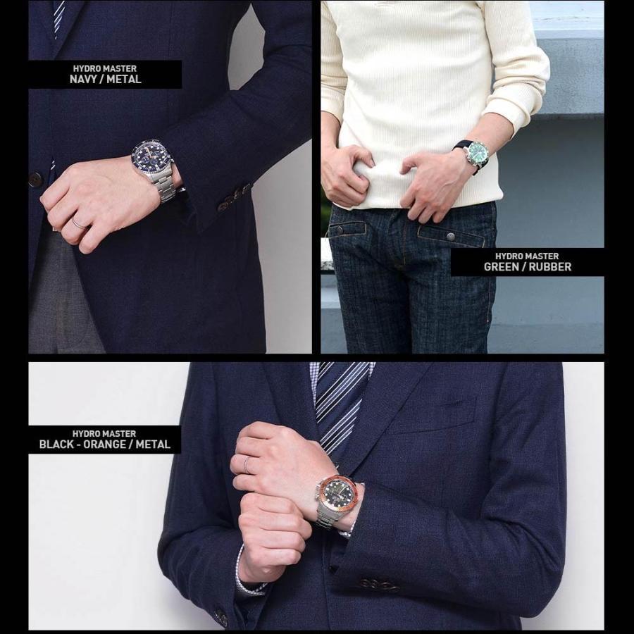 時計 人気 メンズ 腕時計 ダイバーズ クロノグラフ メンズ腕時計|u-stream|16