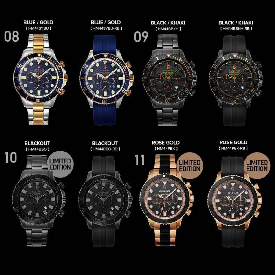 時計 人気 メンズ 腕時計 ダイバーズ クロノグラフ メンズ腕時計|u-stream|04
