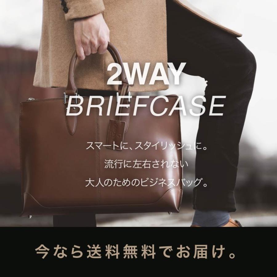 ビジネスバッグ メンズ トートバッグ 2WAY ブリーフケース 撥水 新生活 新社会人 就活 ビジネスマン|u-stream|20