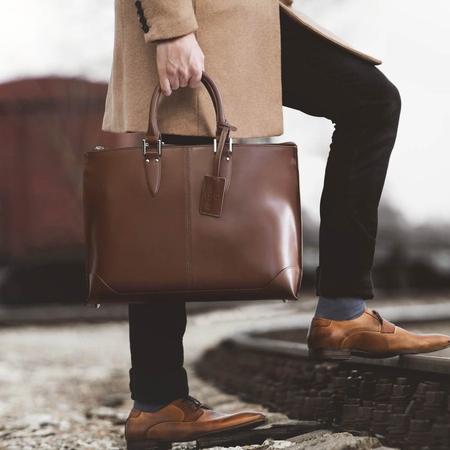 ビジネスバッグ メンズ トートバッグ 2WAY ブリーフケース 撥水 新生活 新社会人 就活 ビジネスマン|u-stream|04