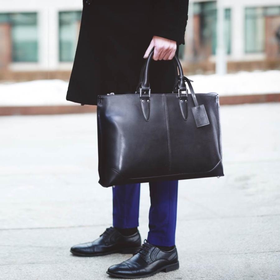 ビジネスバッグ メンズ トートバッグ 2WAY ブリーフケース 撥水 新生活 新社会人 就活 ビジネスマン|u-stream|09