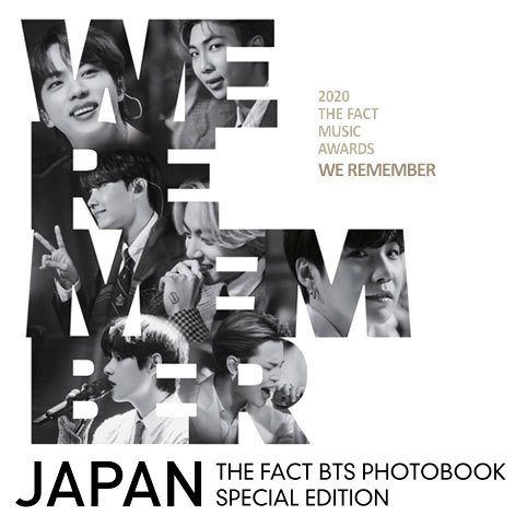 THE FACT BTS PHOTO BOOK SPECIAL EDITION: WE REMEMBER|uatmalljp
