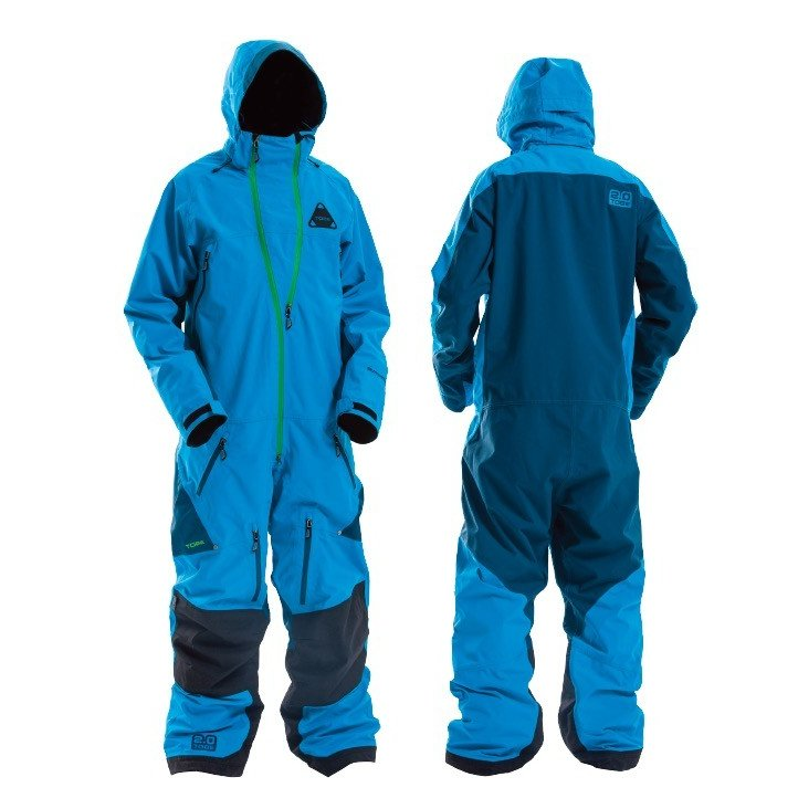 TOBE Outerwear/ Vivid Mono Suit, Hawaiian Ocean
