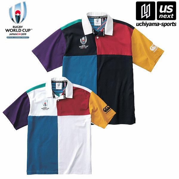「ラグビー ワールドカップ 2019(TM)」カンタベリー公式ライセンス商品 メンズ RWC2019 ショートスリーブ ハーレクイン ジャージ [物流](メール便不可)