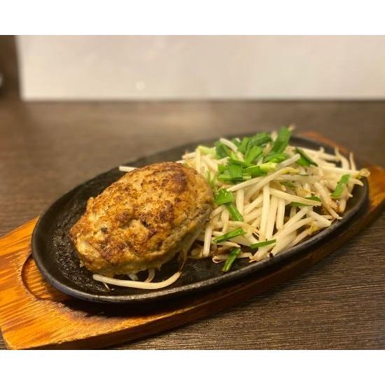 うどん屋さんのハンバーグ1個セット|udon-akane|02
