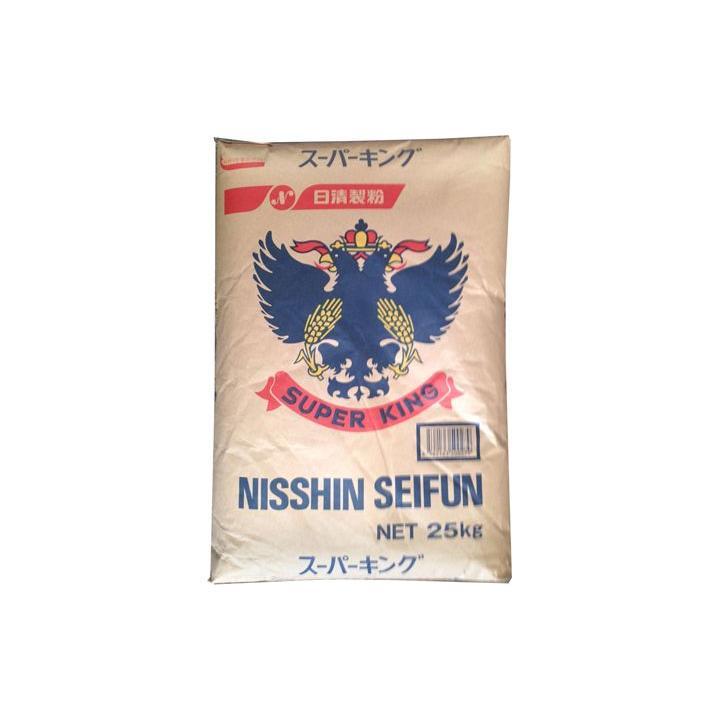 パン用 小麦粉 (強力粉) 日清製粉 スーパーキング 25kg udon2ban-com-y