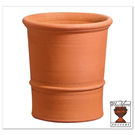 ウィッチフォード テラコッタ 植木鉢 《バクサスポット》17号鉢相当 英国(イギリス)製 Whichford BUXUS POTS