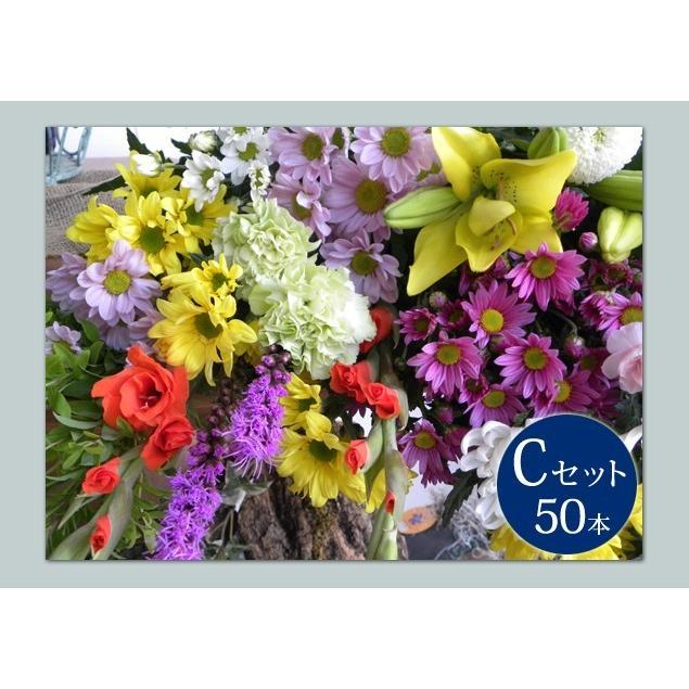 お悔やみ用   切花 花材50本セット(C)|uekibachi|02