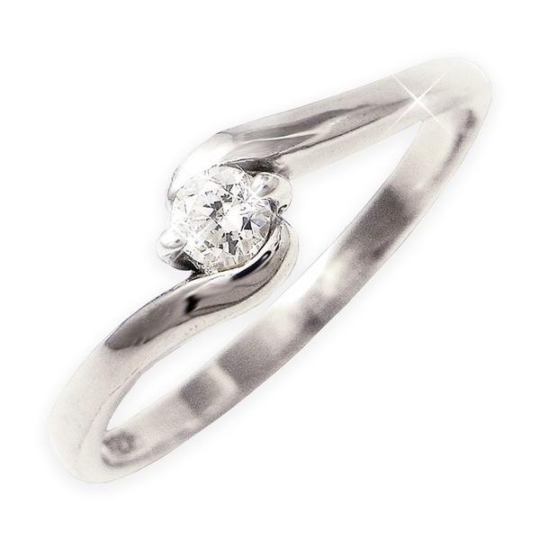100%本物 ダイヤリング 指輪Sラインリング 19号, Alter Ego(アルターエゴ) 890f78b3