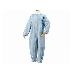 【お買い得!】 つなぎパジャマ 03ブルー ハートフルウェアフジイ /HP06-100 S-介護用品