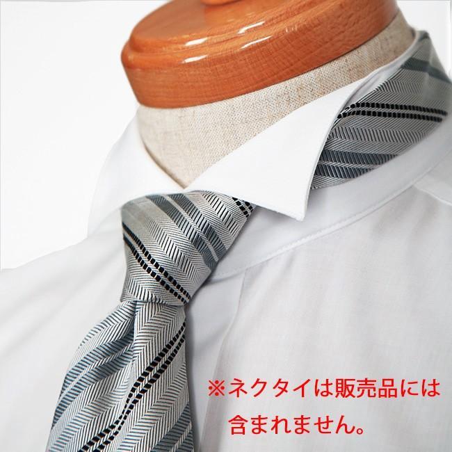 ウイングカラーシャツ タキシード モーニングの必需品ウィングカラーシャツ 新郎 父親 結婚式 二次会 披露宴 発表会で活躍するウイングカラーシャツが安い 特価|ueyama|03