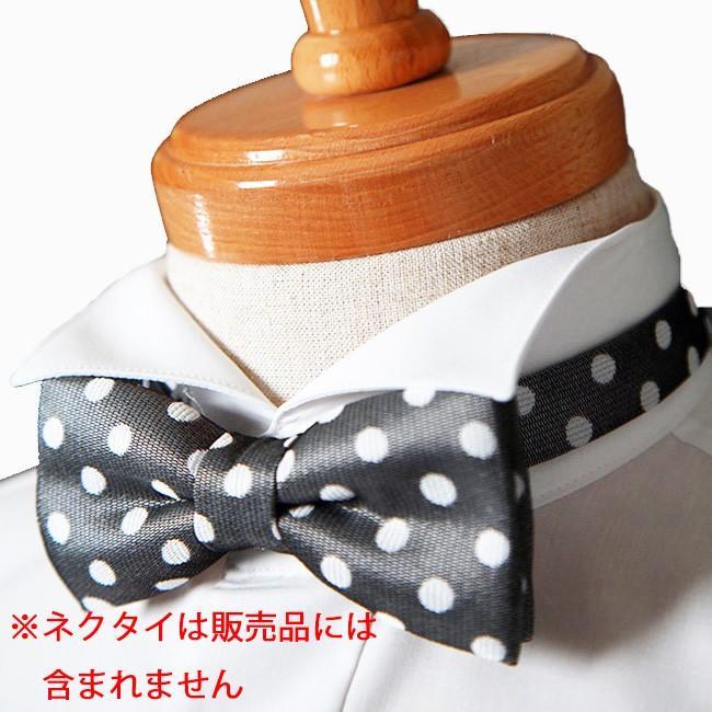 ウイングカラーシャツ タキシード モーニングの必需品ウィングカラーシャツ 新郎 父親 結婚式 二次会 披露宴 発表会で活躍するウイングカラーシャツが安い 特価|ueyama|04