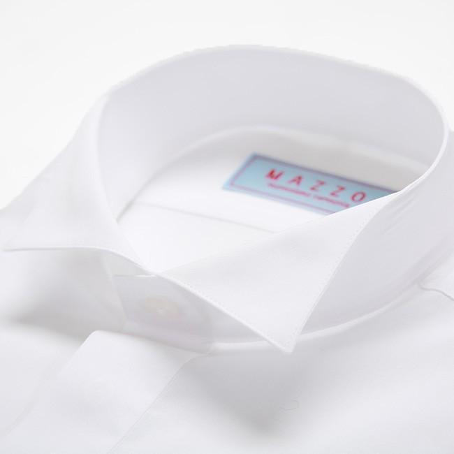 ウイングカラーシャツ タキシード モーニングの必需品ウィングカラーシャツ 新郎 父親 結婚式 二次会 披露宴 発表会で活躍するウイングカラーシャツが安い 特価|ueyama|06