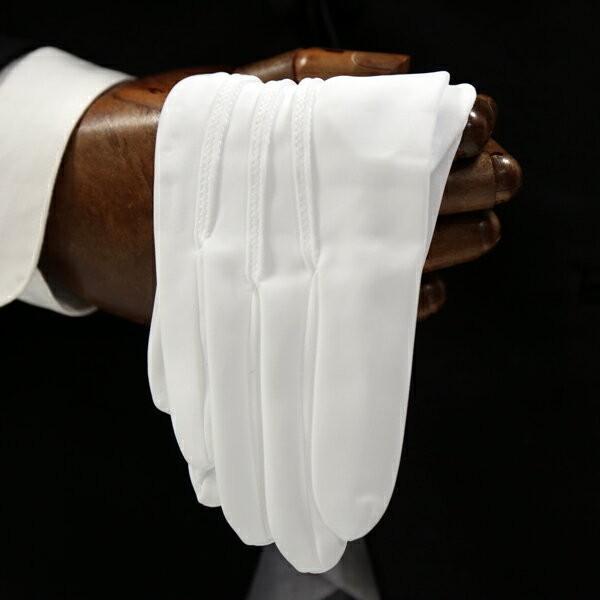 ウイングカラーシャツ+フルセット(ネクタイ+カフスボタン+アームバンド+手袋+靴下+3ピークチーフ) 結婚式 父親モーニング 叙勲 式典 結婚式 ueyama 04