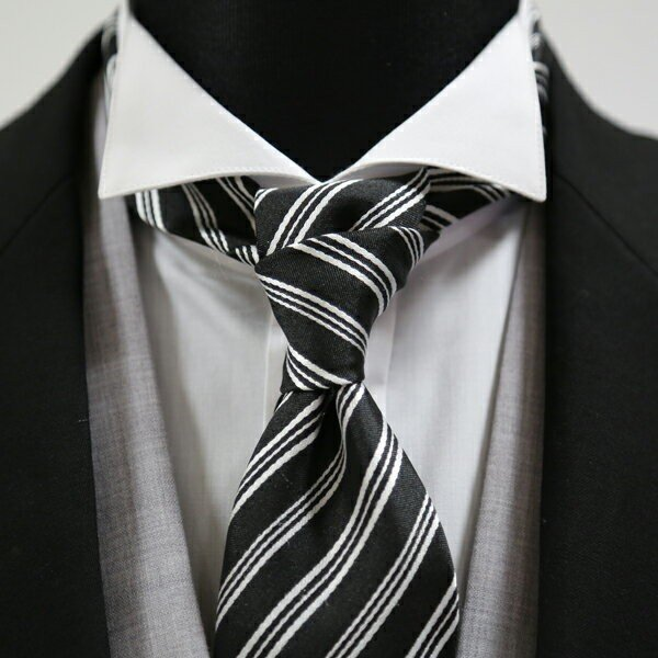 ウイングカラーシャツ+フルセット(ネクタイ+カフスボタン+アームバンド+手袋+靴下+3ピークチーフ) 結婚式 父親モーニング 叙勲 式典 結婚式 ueyama 06