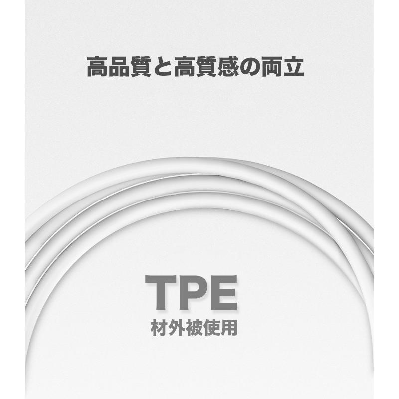 iPhone 充電ケーブル ライトニングケーブル 1m 純正チップ MFi Apple認証 Lightning 急速充電対応 データ同期 iPhoneXS XR X 8 アイフォン 充電器 US155|ugreen-oaplaza|09