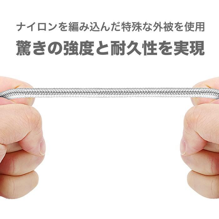 USB Type-C アンドロイド スマホ 充電 ケーブル 1.5m 高速データ転送 2.4A急速充電 us174 NP ugreen-oaplaza 06