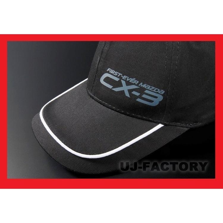 【MZ Racing】マツダオーストラリア CX-3ロゴマークキャップ ◆ Zoom Zoomのロゴが遊び心を刺激します! (9G04 WN 1568)|uj-factory