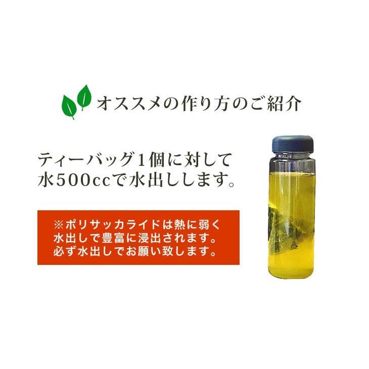 水出し ティーバッグ 秋摘み 番茶 お試し1袋 5g×30個 ポリサッカライドが豊富な茶葉を厳選! ujicha-marumataen 06