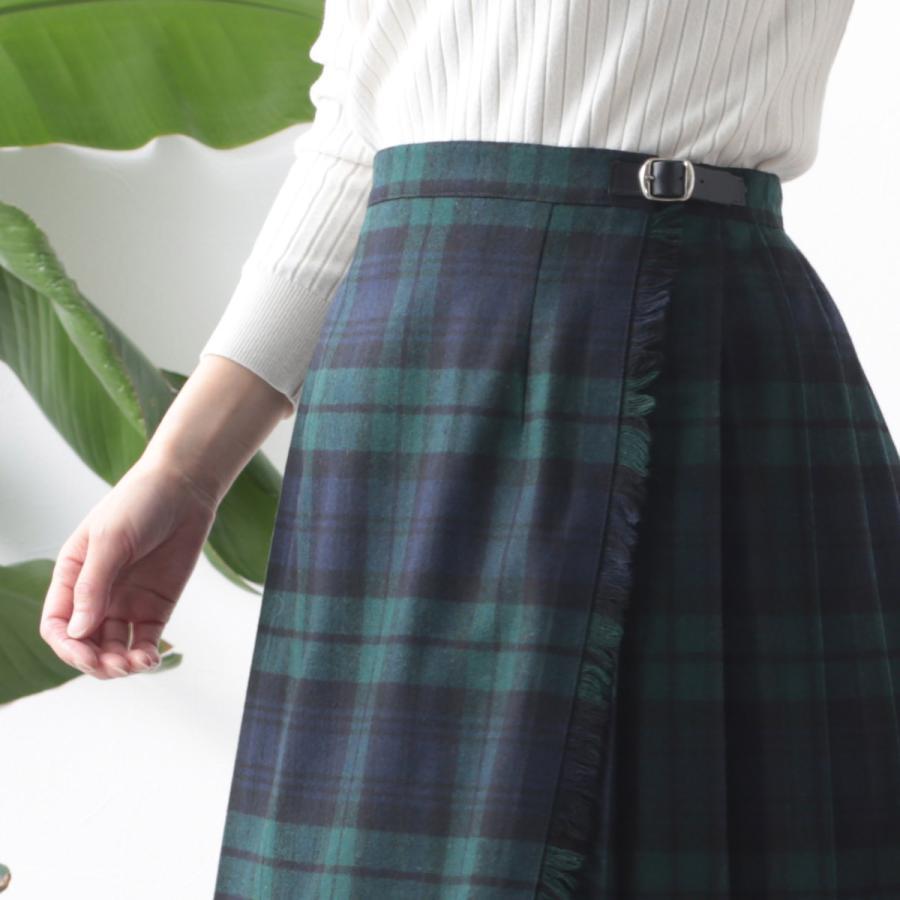 O'NEIL OF DUBLIN オニールオブダブリン キルトスカート 83cm ロング丈 スカート 巻きスカート アイルランド製 プレーン 無地 ウール ギフト ukclozest 14