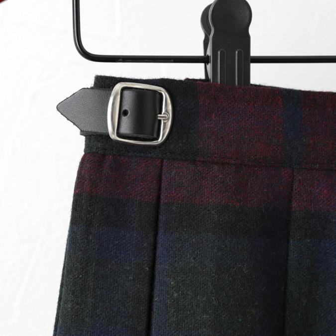 O'NEIL OF DUBLIN オニールオブダブリン キルトスカート 83cm ロング丈 スカート 巻きスカート アイルランド製 プレーン 無地 ウール ギフト ukclozest 15