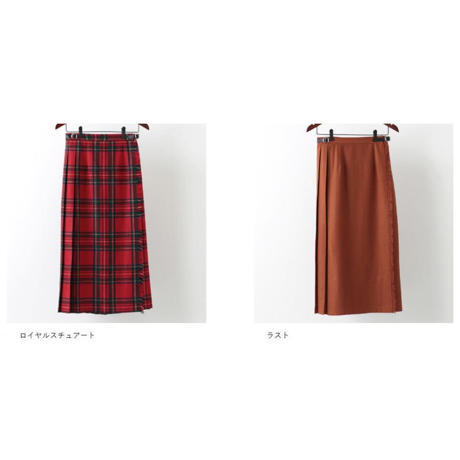 O'NEIL OF DUBLIN オニールオブダブリン キルトスカート 83cm ロング丈 スカート 巻きスカート アイルランド製 プレーン 無地 ウール ギフト ukclozest 10