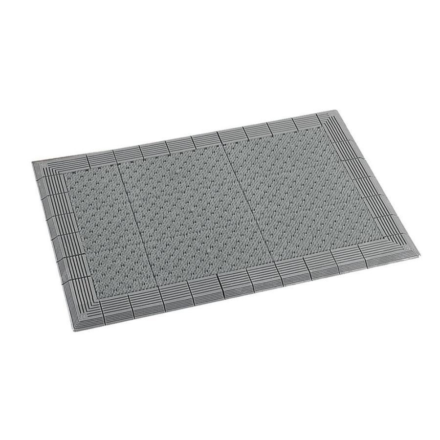 土砂落とし マット テラモト テラエルボーマット 灰 600×900mm MR-052-040-5