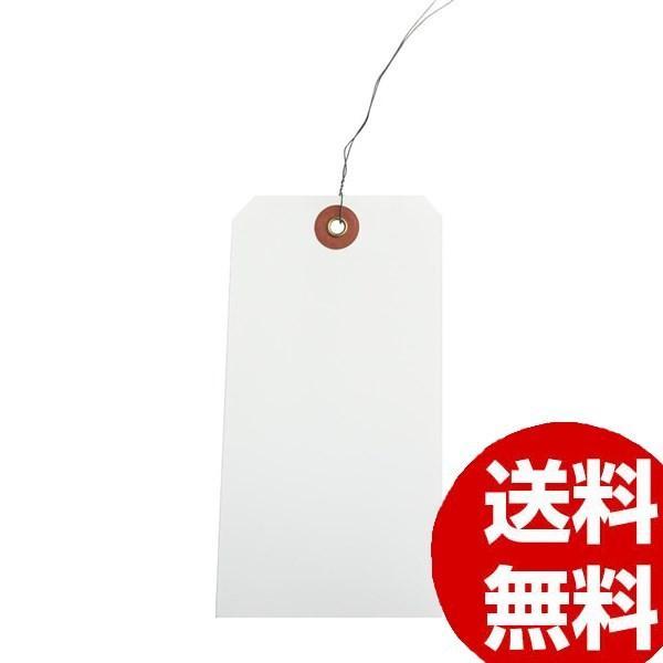 ササガワ タカ印 25-1230 ユポ荷札 大 H120×W60mm 1000枚