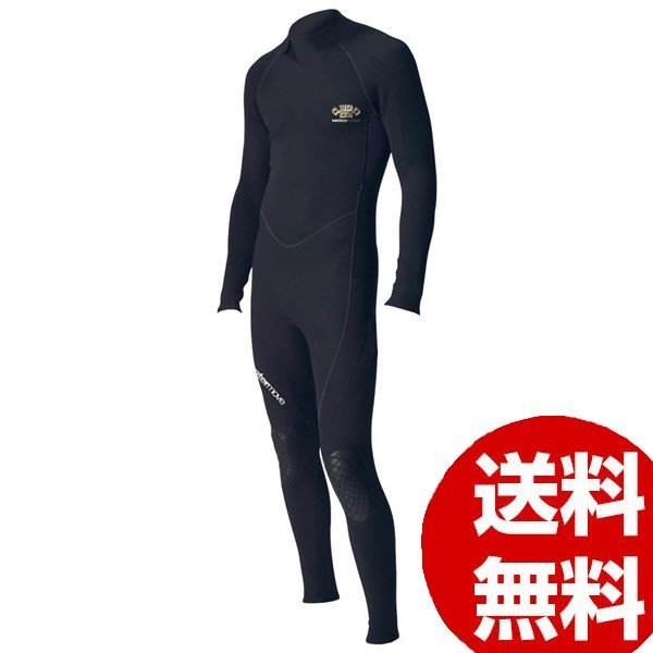 watermove ウォータームーブ スーパーライトスーツ メンズ ブラック XL WSL38118