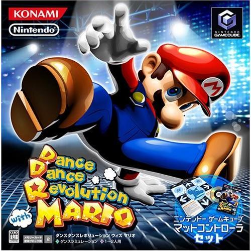 【★新品★】Dance Dance Revolution with MARIO (マットコントローラ同梱) 在庫処分!