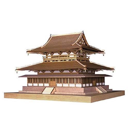 【★新品★】ウッディジョー 1/150 法隆寺 金堂 木製模型 組立キット 在庫処分!