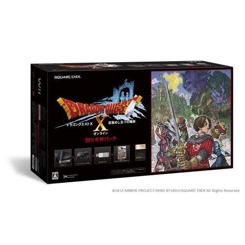 【★新品★】ドラゴンクエストX Wii本体パック (RVL-S-KABR) 在庫処分!