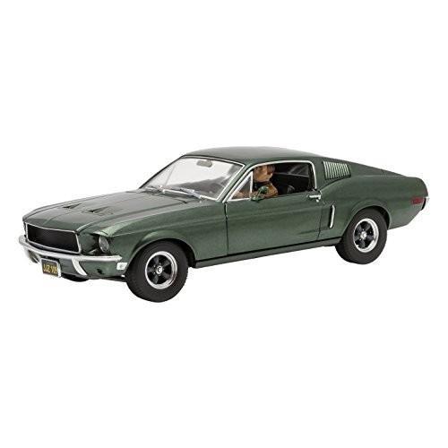 【★新品★】グリーンライト 1/18 1968 フォード マスタング GT ファストバック ハイランドグリーン ブリット (1968) マックイーン