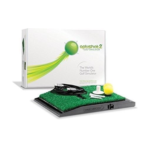 【★新品★】OptiShot2 ゴルフシュミレーター(国内正規品/1年間保証/日本語説明書付) 在庫処分!