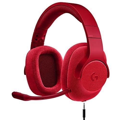 【★新品★】G433 7.1 WIRED SURROUND GAMING HEADSET (RED) 在庫処分!