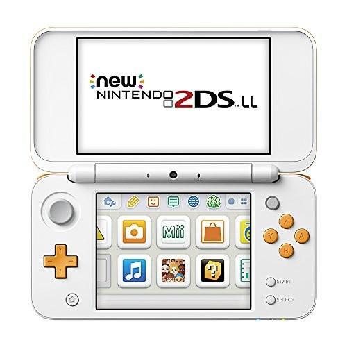【★新品★】Newニンテンドー2DS LL 【ホワイト×オレンジ】 在庫処分!