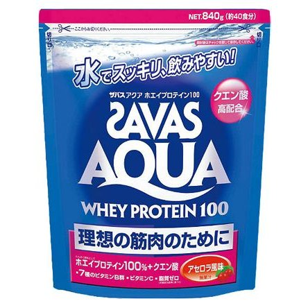 SAVAS サプリメント プロテイン ザバス アクア  ザバス SAVAS Aqua Acerola|ult-collection