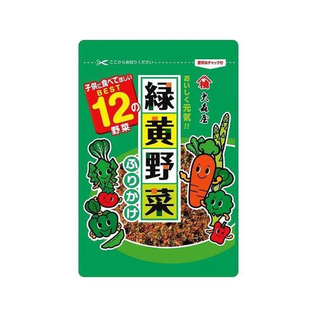 うまい村デイリー 大森屋 緑黄野菜ふりかけ 45g x10|umaimura