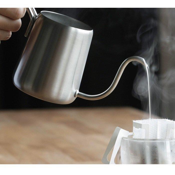 《ネット販売特別価格》bonmac ワンドリップポット 350ml+ワンドリップコーヒー5袋セット umakacoffee-store 03
