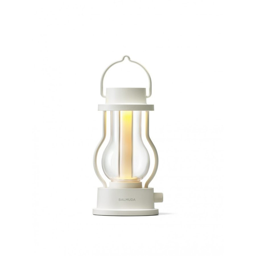 【ポイント5倍】【BALMUDA】 The Lantern バルミューダ ザ ランタン(ホワイト)|umd-tsutayabooks