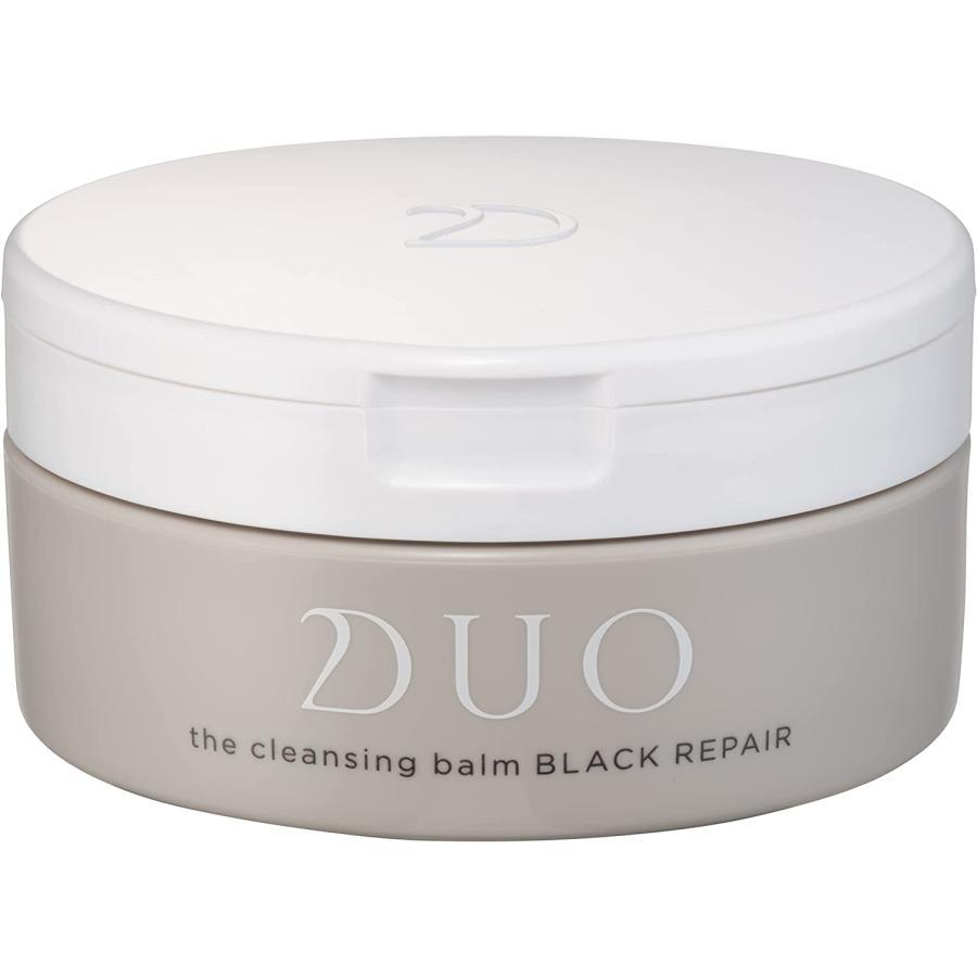 『正規品』DUO  黒 スパチュラ付き デュオ ザ クレンジングバーム ブラックリペア 20g |ume-ichi