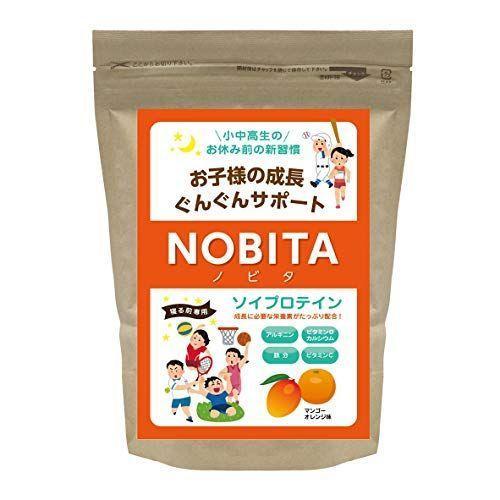Spazio(スパッツィオ) NOBITA(ノビタ)ソイプロテイン 002 マンゴーオレンジ F FD-0002 umeeee-store