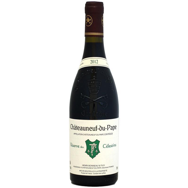 赤ワイン Wine アンリ・ボノー シャトーヌフ・デュ・パプ キュヴェ・レゼルヴ・デ・セレスタン 2012年 750ml