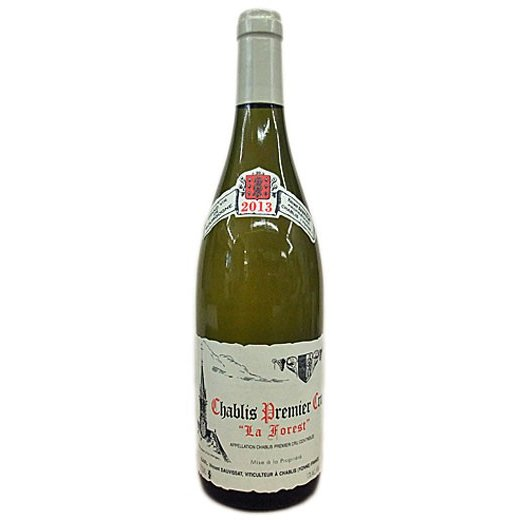 白ワイン wine ヴァンサン・ドーヴィサ シャブリ 1er ラ・フォレ 2013年 750ml
