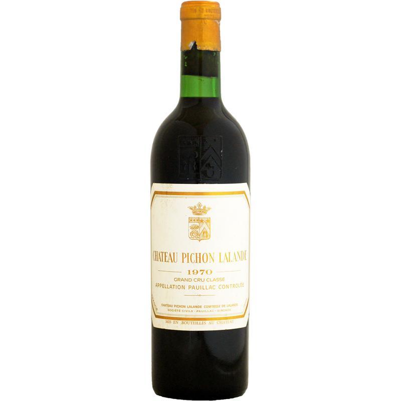 赤ワイン wine ボルドー シャトー・ピション・ラランド 1970年 750ml