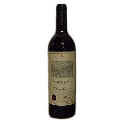 赤ワイン wine カリフォルニア アラウホ・カベルネソーヴィニヨン・アイズル・ヴィンヤード・ナパヴァレー 1994年 750ml